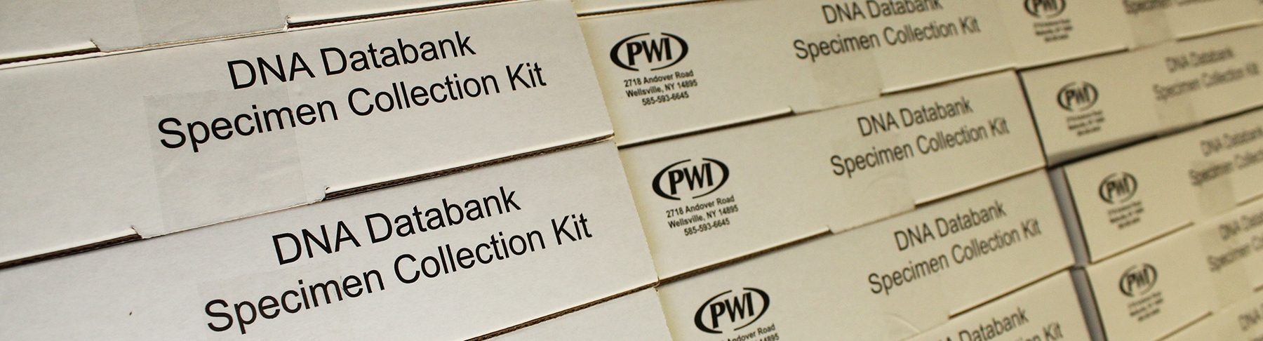 PWI DNA Databank Collection Kit Close-up